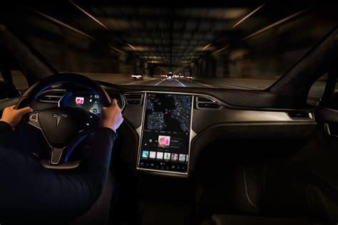 Download Tesla Car 2018 Interior PNG