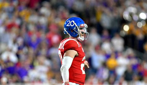 ole  objects  ncaa  shea patterson eligibility