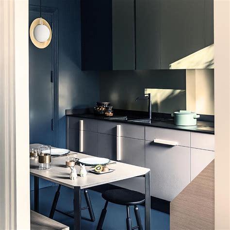 solutions blue kitchens elle decoration uk
