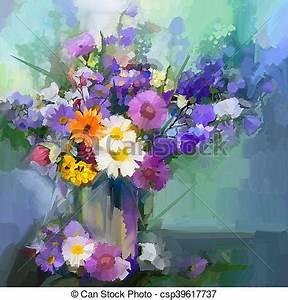 ölgemälde Blumen In Vase : vase lgem lde blumen g nseblumen gemalt stil oel zeichnungen suche clipart ~ Orissabook.com Haus und Dekorationen