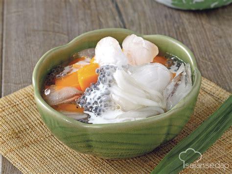 Kalau mau ditonton silahkan, kalau ngga bisa masukkan bahan yang sudah dihaluskan bersama dengan garam, gula jawa dan bahan lainnya. Resep Es Buto Ijo Khas Jawa Timur | Resep Masakan Indonesia