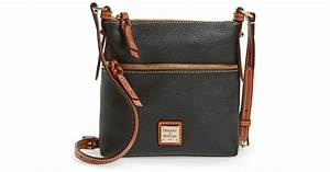 dooney bourke 39letter carrier39 leather crossbody bag in With dooney and bourke letter carrier purse