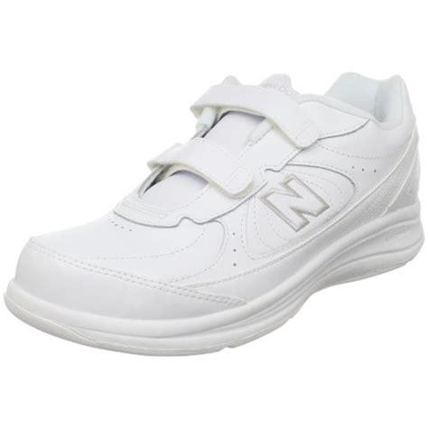 balance womens ww walking velcro shoewhite