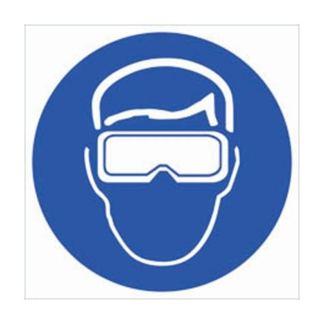 brady rtk pictogram labels safety gogglesgloves glasses