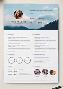 10 best free resume cv templates in ai indesign word With cv template illustrator