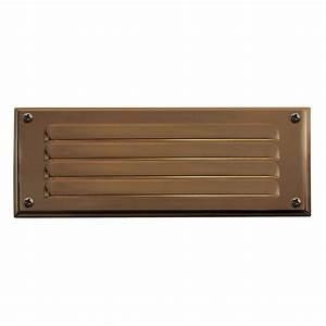Progress lighting low voltage watt weathered bronze