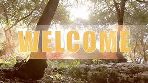 Forest Welcome - Church Media Resource