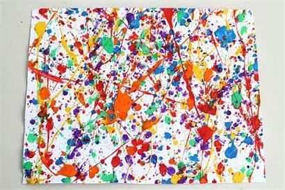 Paint Splatter Splattered Colors Wikihow