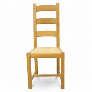 Chaise Chene Massif : chaises chene massif maison design ~ Teatrodelosmanantiales.com Idées de Décoration