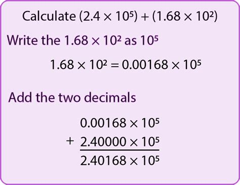 add and subtract with numbers in standard form mr
