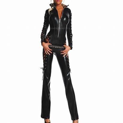 Leather Biker Jumpsuit Leatherexotica Rebel Halloween Special