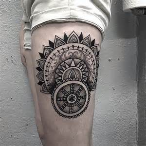 Abstract Black and Grey Tattoo