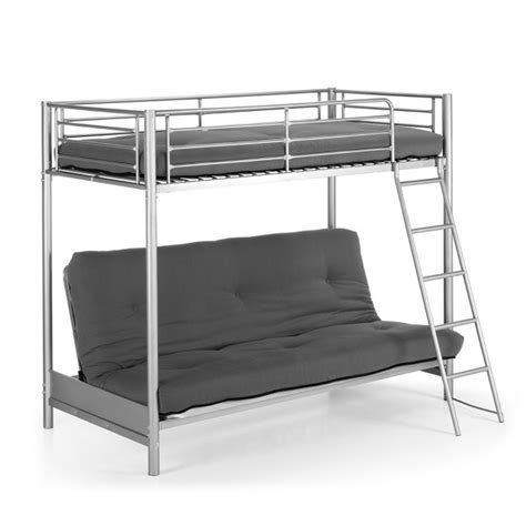 photo lit mezzanine 2 places avec canape lit chaios