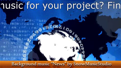 Background Music For News Intro / News Sound/ News
