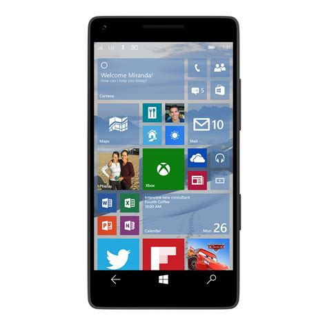 new windows phones windows 10 on a phone will arrive with universal apps