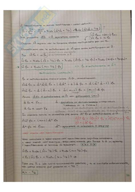 Dispense Meccanica Razionale by Dispense Meccanica Quantistica Pdf