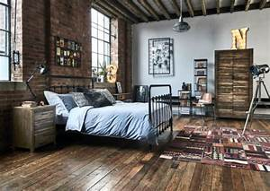 Industrial Bedroom Rustic Vanilla Rose HG Follow This