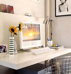 Wall Mounted Floating Desk Ikea by Floating Desk Contemporary Den Library Office Domino