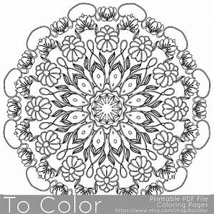 Intricate Printable Coloring Pages For Adults Gel Pens By