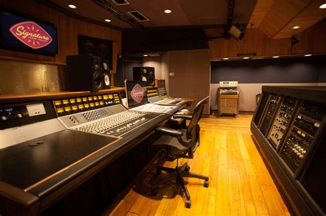 Studio A   Signature Sound Recording   San Diego, California