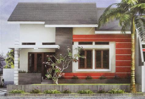 rumah minimalis dua muka