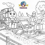 Thomas Train Coloring Pages Friends Tank Engine James Cartoon Games Older Face Fun Controller Fat Colorings Railway Toys Splendid Smiling sketch template