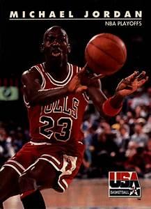 1992 SkyBox USA #42 Michael Jordan BULLS/NBA Playoffs