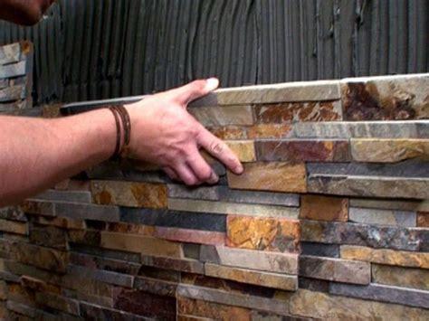 postavljanje dekorativnog kamena i cigle