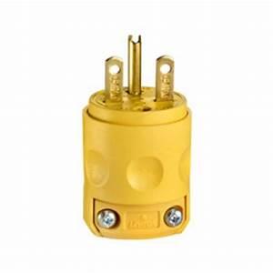 Leviton 230v  15 Amp Male Wire Plug End
