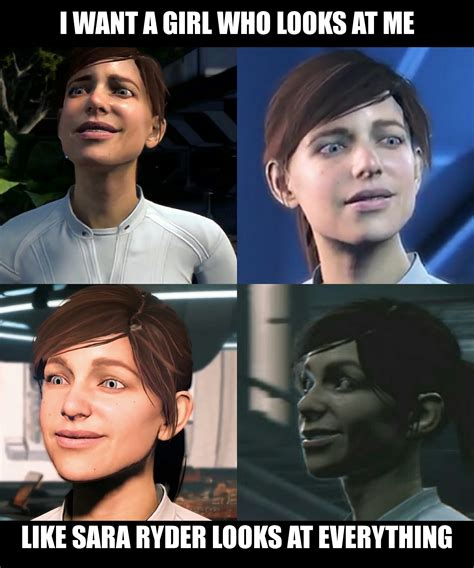 Mass Effect Andromeda Memes - i want a girl mass effect andromeda know your meme