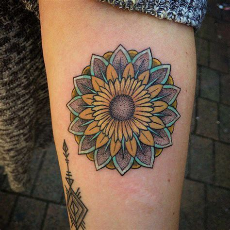 stand  sunflower tattoos  meanings tips