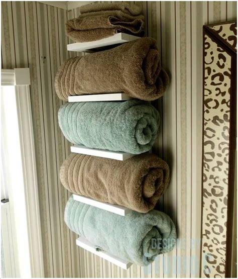 Bathroom Towel Racks Ideas by Amazing Interior Design 15 Cool Diy Towel Holder Ideas For