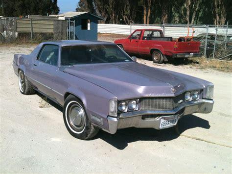 Cadillac Eldorado Coupe 1969 Wisteria Metallic For Sale