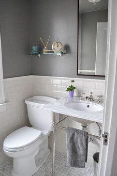 24 quot deco undermount console sink grey walls grey
