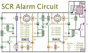 Scr Alarm Circuit