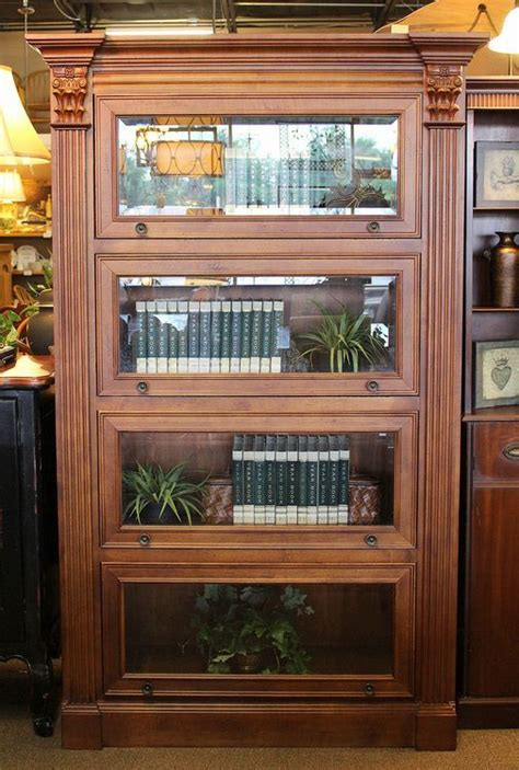 barrister style bookcase  hooker furniture