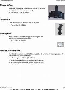 Omnitracs Ivg Intelligent Vehicle Gateway User Manual Ivg
