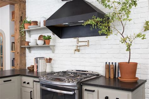white kitchen brick tiles search viewer hgtv 1330