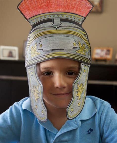 free downloadable centurion paper helmet craft 535 | e330f9dcce057636a195e8d5ed9a3ef5