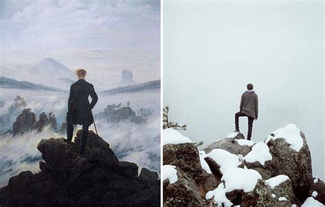 20 Modern Remakes Of Famous Paintings  Bored Panda
