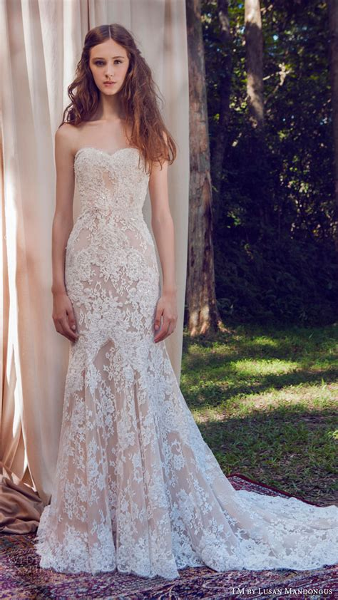 wedding dress with color lm by lusan mandongus 2017 wedding dresses wedding inspirasi