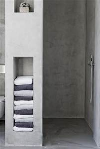 Niche De Douche : small space solution wall niche shelves ~ Premium-room.com Idées de Décoration
