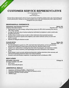 Resume samples customer service jobs sample resumes for Customer service sample