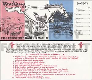 1964 1  2 Ford Mustang Wiring Diagram Manual Reprint