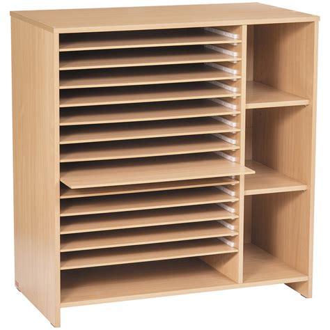 range papier bureau meuble à papiers à tiroirs séchage et rangement nathan