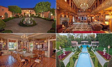 historic beverly hills mansion   godfather