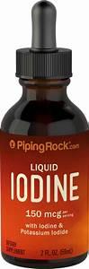 Liquid Iodine  2 Oz  59 Ml  Dropper Bottle