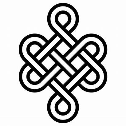 Vector Celtic Tattoos Luck Health Sign Shui