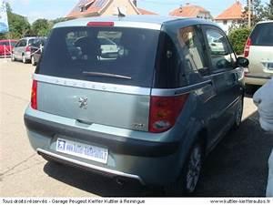Peugeot 1007 Occasion : peugeot 1007 1 6l 16v 2 tronic sporty 2005 occasion auto peugeot 1007 ~ Medecine-chirurgie-esthetiques.com Avis de Voitures