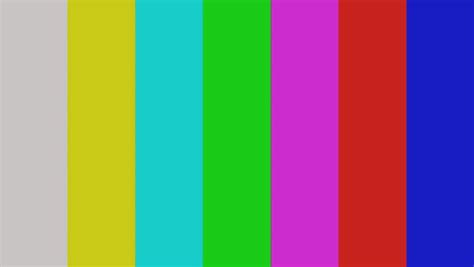 Smpte Color Bars Transition